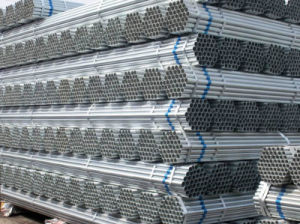 G. I Tube/ Galvanized Steel Pipe Factory pictures & photos