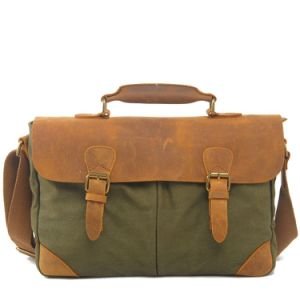 Canvas Vintage Leather Fashion Brand Bags Wholesale From China (RS-2000A) pictures & photos