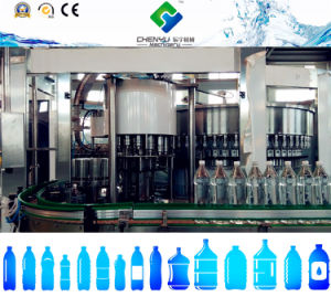 High Speed Automatic 3-in-1 Pet Bottle Water Filling Machine pictures & photos