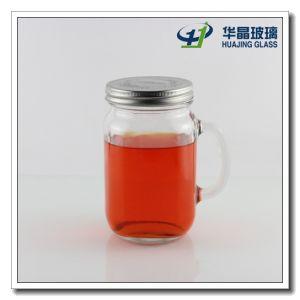 25oz Drinking Glass Mason Jar with Handle