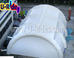 White Giant Inflatable Tent with Flap pictures & photos