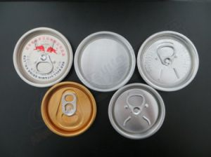 206# 57mm Energy Drinks Easy Open Lid pictures & photos