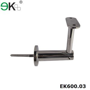Stainless Steel Fixed Flat Support Wall Handrail Bracket