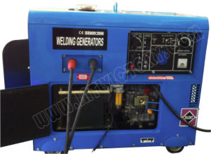 4.5kw Silent Diesel Welding Generator of Model Dw190se pictures & photos