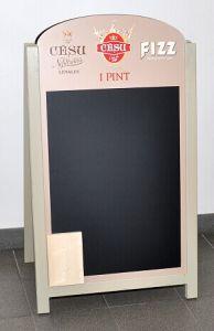 a Frame Custom Chalkboard, Plastic Chalkboard, Folding Chalkboard pictures & photos