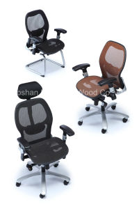 Hot Sale Modern High Back Mesh Ergonomic Manager Boss Chair (HF-2P5B) pictures & photos