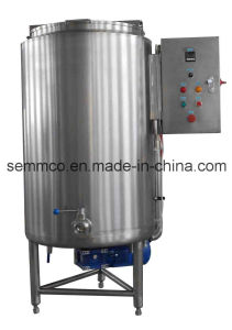 Semmco Bwg Series Ss Digital Control Chocolate Storage Tank