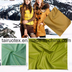 100% Nylon Taffeta Fabric for Lady Fashion Down Jacket Fabric pictures & photos