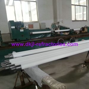 Quartz Ceramic Fused Silica Roller for Glass Tempering Furace pictures & photos