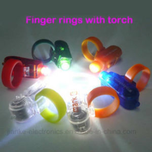 LED Light up Finger Beam with Logo Printed (4012) pictures & photos