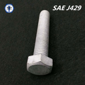 Hex Cap Screw SAE J429 Gr. 1, Gr. 2 pictures & photos