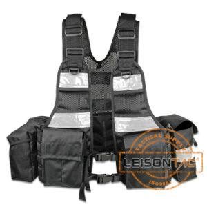 Tactical Vest with Holster SGS Standard Leisontac Tactical Gear for Military and Outdoor pictures & photos
