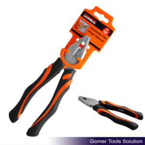 Professional Combination Plier with Comfortable Handle (T03025-F)