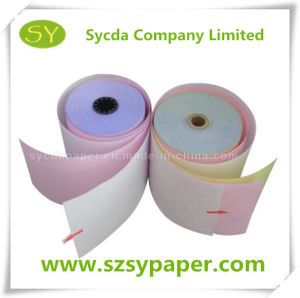 58g Carbonless Copy Paper NCR Paper Rolls pictures & photos
