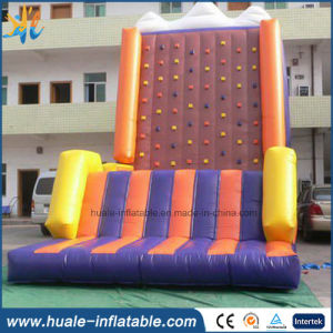 PVC Inflatable Rock Climbing, Climbing Wall with Slide Sports Game pictures & photos