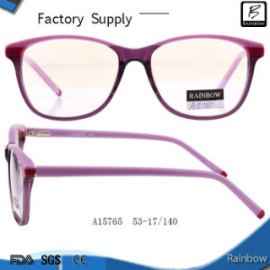 New Arrival Stripe Color Optical Frames for Eyewear Frames (A15765)