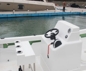 22′ Fiberglass Outboard Motor Fishing Boat for Sale pictures & photos