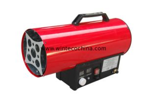 Gas Fan Heater LPG Space Heater 50kw Thermostat with Two Temperature Display pictures & photos
