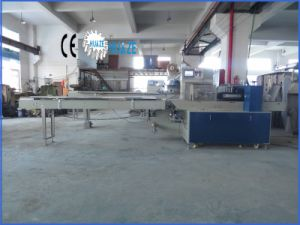 Semi-Automatic Full Stainless Flow Bag Garbage Packing Machine pictures & photos