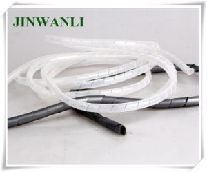 Spiral Wrapping Band Electrical Wire Sleeves Protect Wire pictures & photos