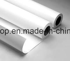 Printing Materials PVC Self Adhesive Vinyl Window Film (100mic 120g relase paper) pictures & photos