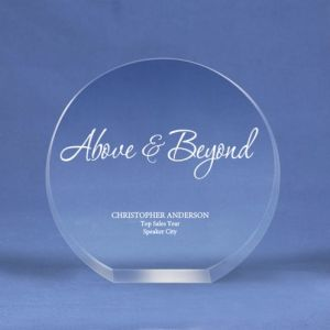 Round Crystal Logo Collection Trophy for a Desktop Award (#70154) pictures & photos