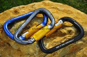 D-Shaped Twistlock Rock Climbing Carabiner (C20) pictures & photos