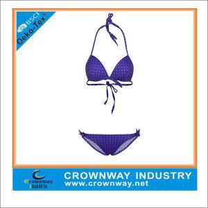 Neoprene Fashion Triangle Swimwear Bikini Model pictures & photos