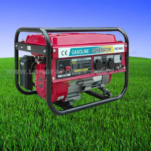 2kw, 2.5kw, 3.0kw, 5kw, 6kw Portable Home Use Gasoline Generator Set pictures & photos