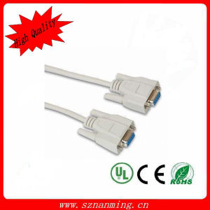 3+4 Monitor HD VGA 15p M / M Cable with Double Magnet Rings (5 m) pictures & photos