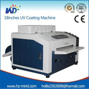 UV Coating Laminating Machine UV Liquid Coating Machine (WD-LMA18) pictures & photos