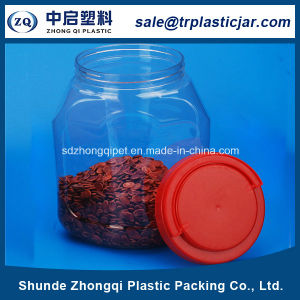Pet Jar with Plastic Lid for Food