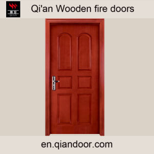 Teak Skin Wooden Interior Fire Door pictures & photos