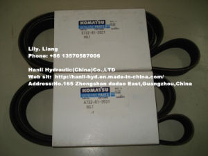 Hydraulic Komatsu Belt for Excavator/ Bulldozer/ Road Roller