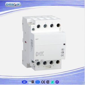 2p 40A Ict Manual Control Household AC Magnetic Contactor pictures & photos