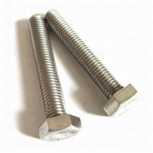 Inconel Hex Head Bolt with Nut Washer Threaded Rod