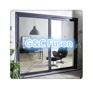 Attractive Quality Guarantee Colorful Aluminum Sliding Door pictures & photos