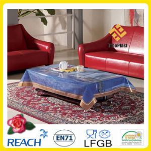 PVC Printed Landscape Tablecloths pictures & photos