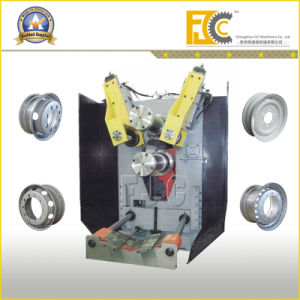 Hydraulic Wheel Rim Manufacturing Roll Forming Machine for Bus pictures & photos