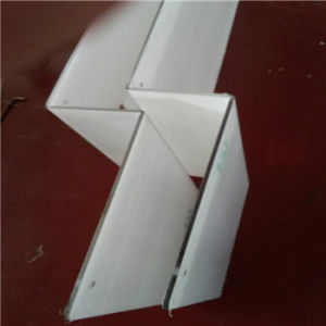 Plastic/PC Vertical Bending Parts for Electric Machine Shield pictures & photos