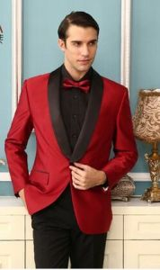 2016 Spring New Satin Lapel Men Wedding Tuxedo pictures & photos