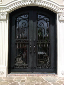 Wrought Iron Gate Grill Entrance Door Designs Prices pictures & photos