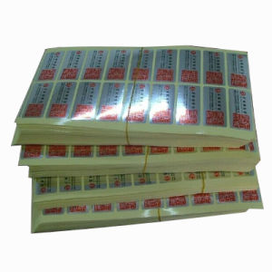 Rotary Color Printed Self Adhesive Sticker & Label pictures & photos