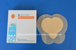 CE FDA Approved Highly Absorbent Self Adherent Sacral Foam Dressing pictures & photos