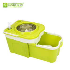 Folding Bucket Spin Mop with Long Handles Hdr-M023
