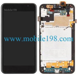 for LG Escape P870 LCD Screen and Touch Screen with Front Housing pictures & photos
