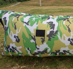 Nylon Inflatable Air Sleeping Lounge (S112) pictures & photos