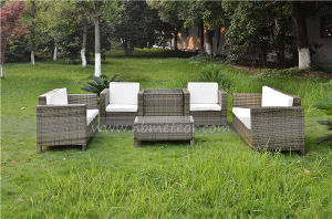 Mtc-221 Outdoor Rattan Sofa Set Garden Furniture Patio Wicker Double Sofa pictures & photos