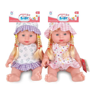 12 Inch Lovely Vinyl Baby Doll with IC (10264640) pictures & photos