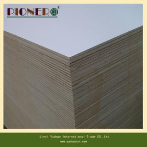 18mm Wooden Grain Mlelamine Particle Board for Plywood pictures & photos